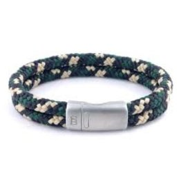 Steel & Barnett Rope bracelet Lake - Hunter camo - Size S