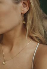 Détail Detail earrings Angelina iolite GP (7992)