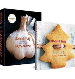 Lannoo Uitgeverij Donna Hay pakket - Basic to brilliance + Kerst het kookboek