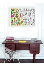 OMY Omy coloring poster 100 x 70 Stylist