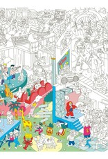 OMY Omy coloring poster 100 x 70 Music