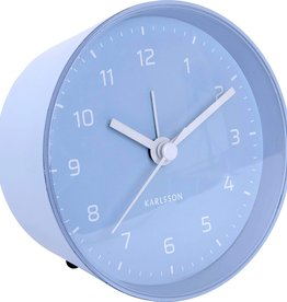 Karlsson Alarm clock cone - light blue