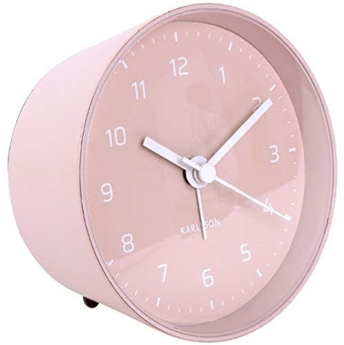 Karlsson Alarm clock cone - light pink