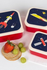 Rex London Set of 3 snack boxes Space