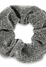 With love Scrunchie glitter grey