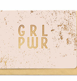 Enfant Terrible Enfant Terrible card + enveloppe 'GRL PWR'