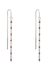 With love Earrings prima donna -  silver