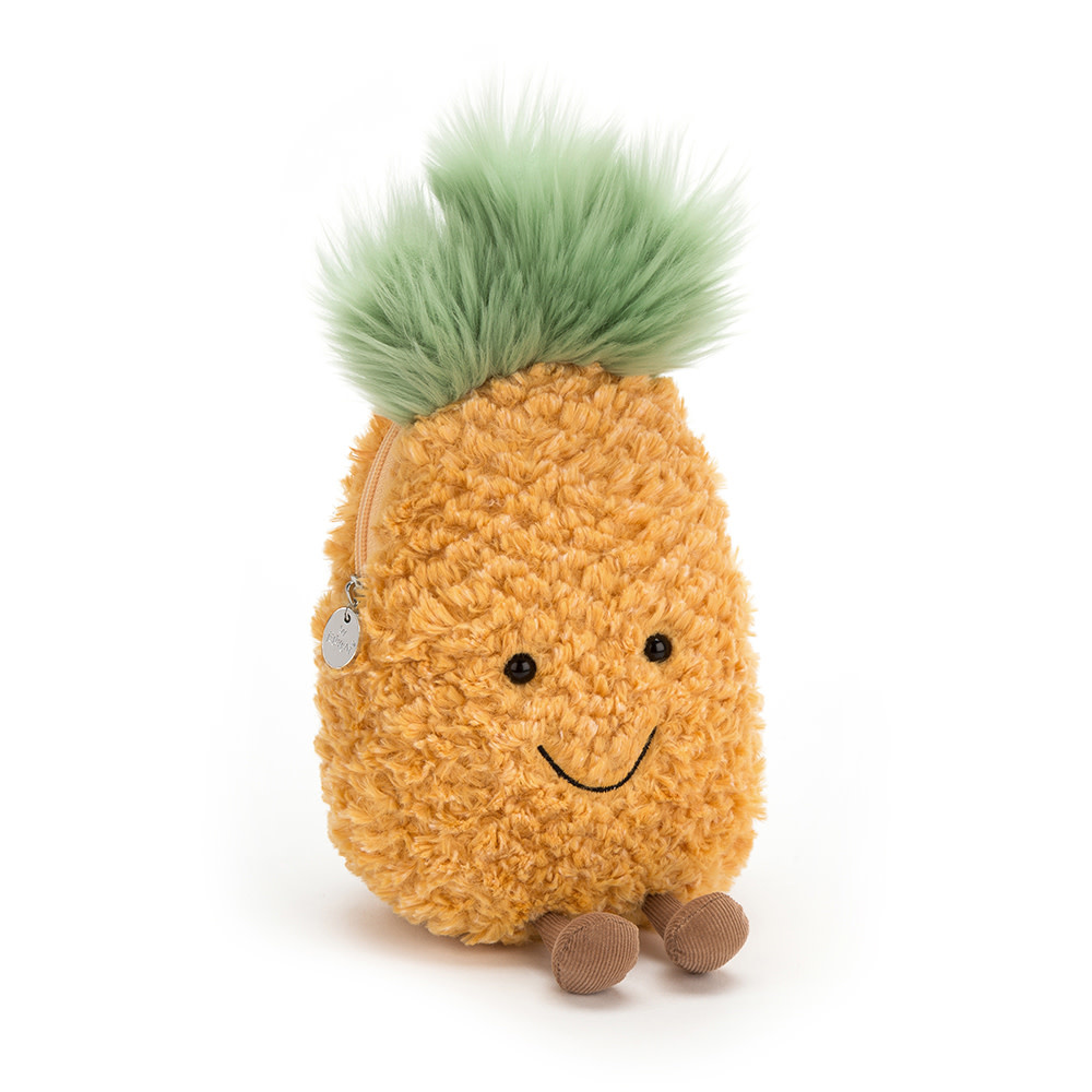 Jellycat Amuseable pineapple small bag