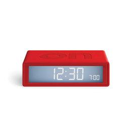Lexon Flip+ rubber red 10,4 x 6,5 x 3 cm