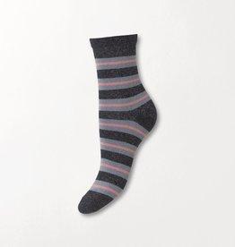 Beck Söndergaard Dalea big stripe socks - Night sky 37/39