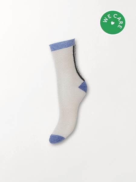 Beck Söndergaard Shimmer Pasha sock - Silver grey 37/39