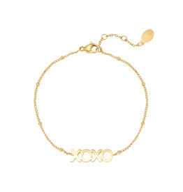 With love Bracelet dotted XOXO