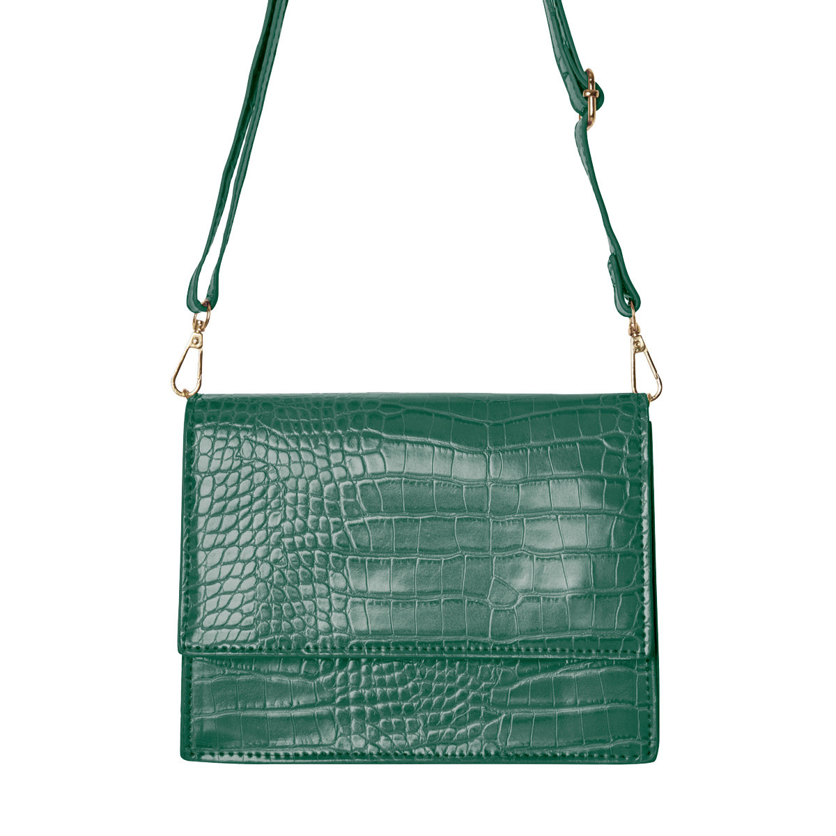 With love Bag Uptown girl - dark green 21cm x 13.50cm x 7cm