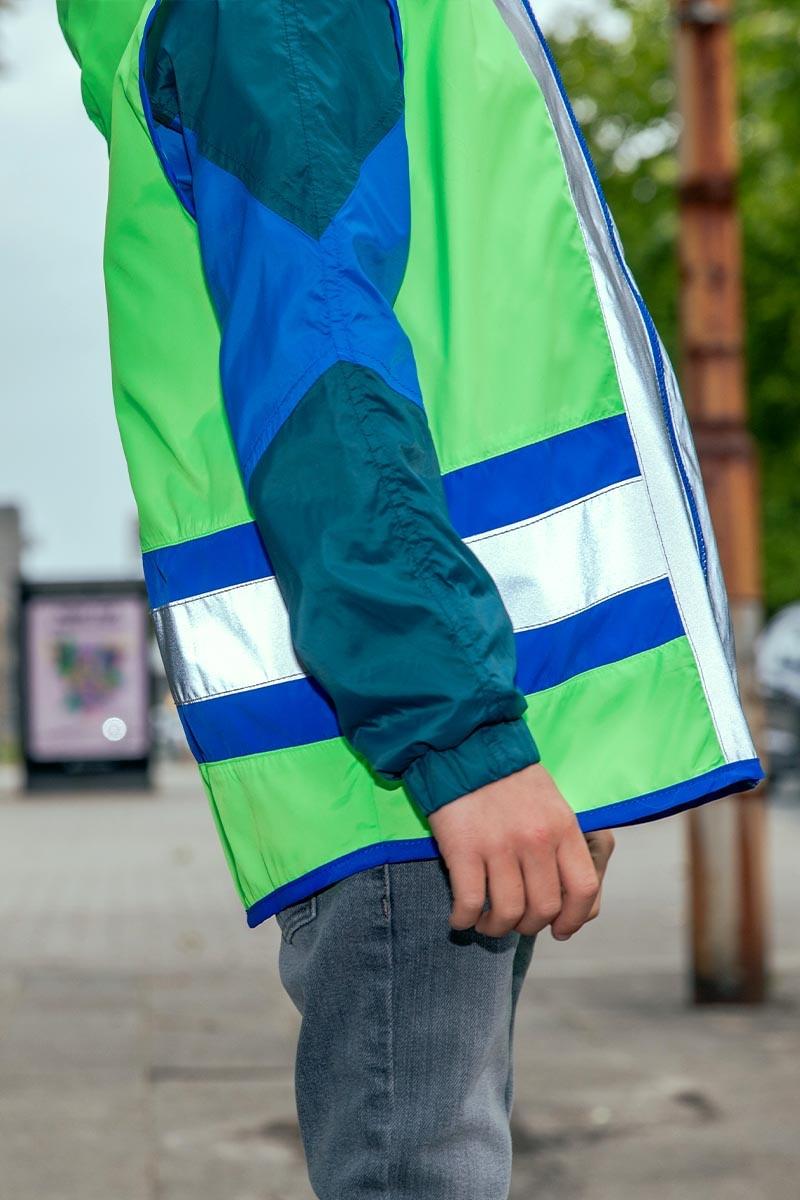 Go Fluo Joy kids green
