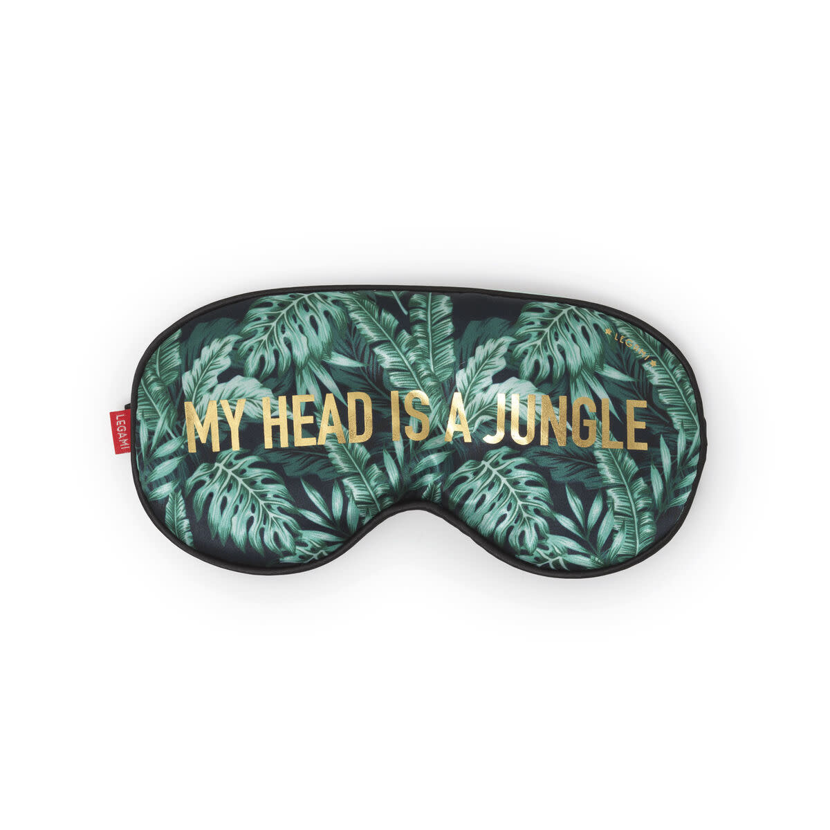 Legami Nap queen sleep mask - my head is a jungle