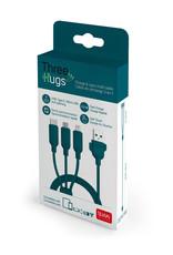 Legami Three hugs charge & sync multi cable