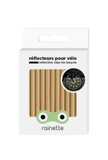 Rainette Rainette wheel spoke reflectors - gold
