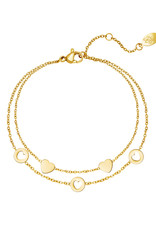 With love Bracelet romance gold