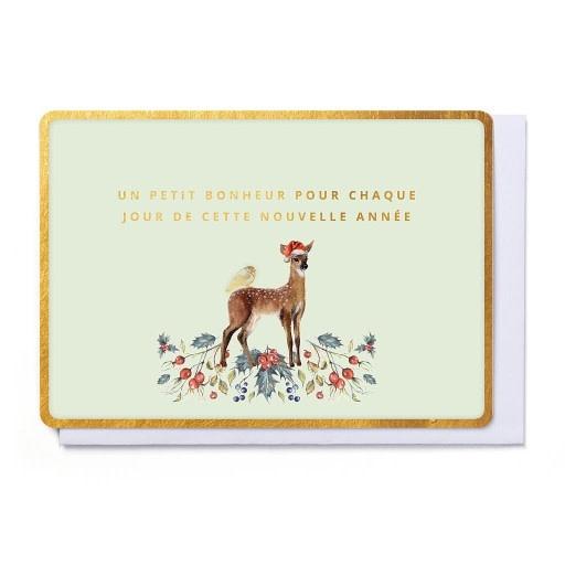 Enfant Terrible Enfant Terrible card + enveloppe 'Onze beste wensen voor het nieuwe jaar'