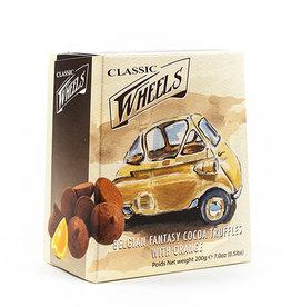 Grandma Wild's Fantasy cocoa truffles orange - Classic wheels 200 gr.