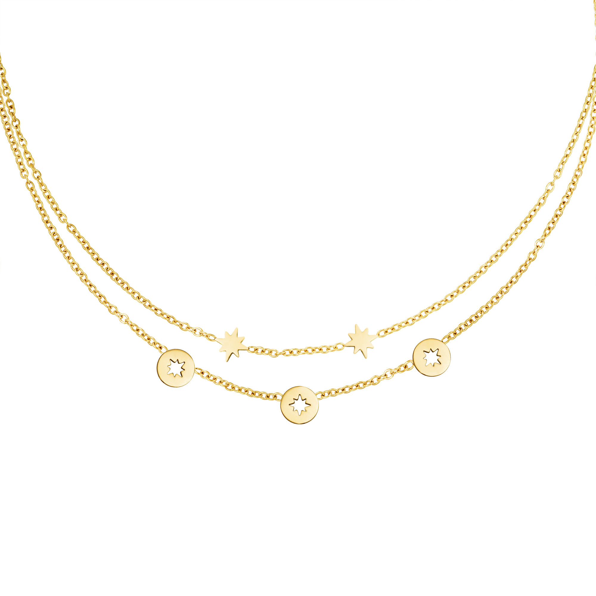 With love Necklace starstruck gold