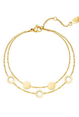 With love Bracelet it's mutual gold