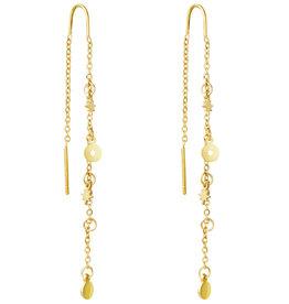 With love Earrings starstruck gold
