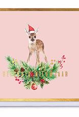Enfant Terrible Enfant Terrible card + enveloppe 'Gelukkig nieuwjaar bambi'