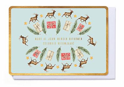 Enfant Terrible Enfant Terrible card  + enveloppe 'Moge al jouw wensen uitkomen'