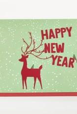 Enfant Terrible Enfant Terrible card  + enveloppe 'a happy new year'