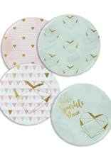 Enfant Terrible Set of 4 magnets 'Pastel love'