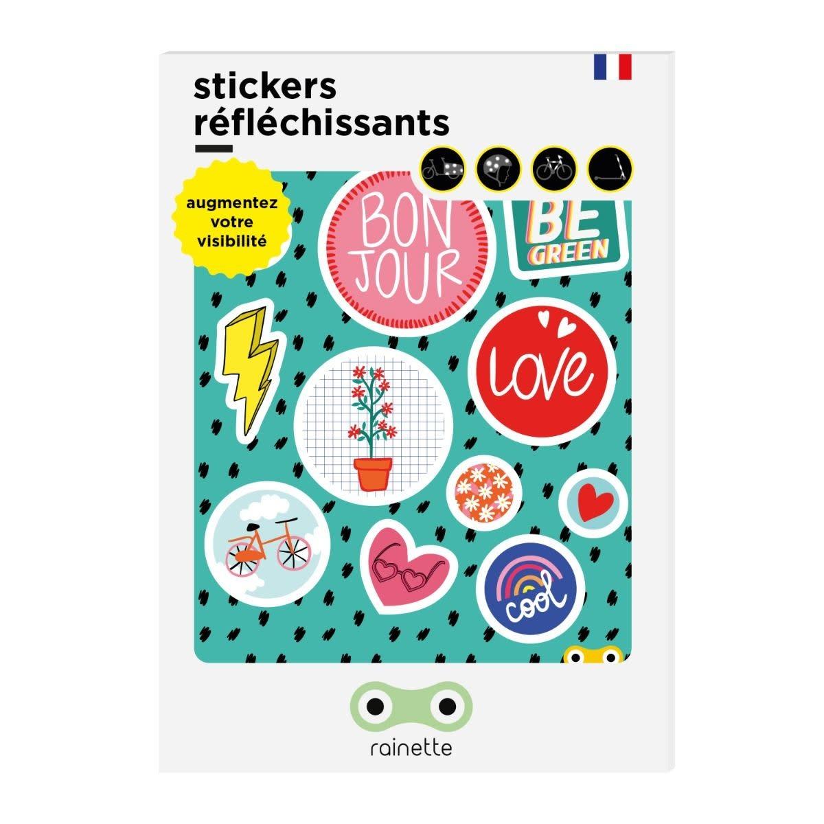 Rainette Rainette reflective stickers - Be Green