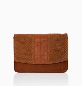 Détail Detail Hope handbag Amber anaconda 21 x 7 x 15 cm