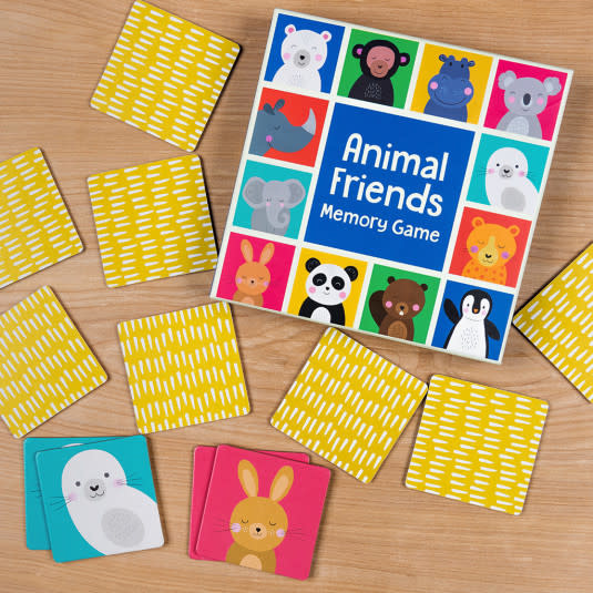Rex London Animal friends - Memory game