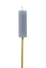 Rustik Lys Outdoor torch bamboo stick 38x120 mm Steel blue