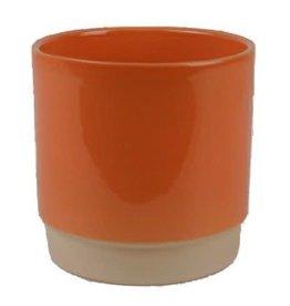 Eno flower pot coral 13 x 13 cm