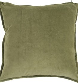 Goround Interior Cushion velvet army green 45 x 45 cm