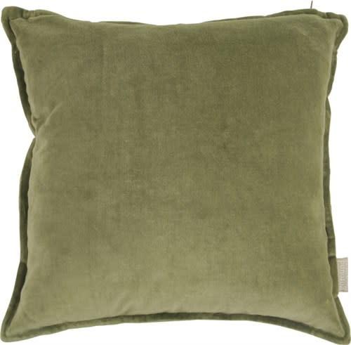 Goround Interior Cushion velvet army green 45 x 45 cm
