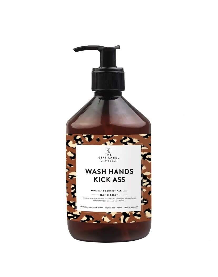 The Gift Label Hand soap 500 ml - wash hands and kick ass - new