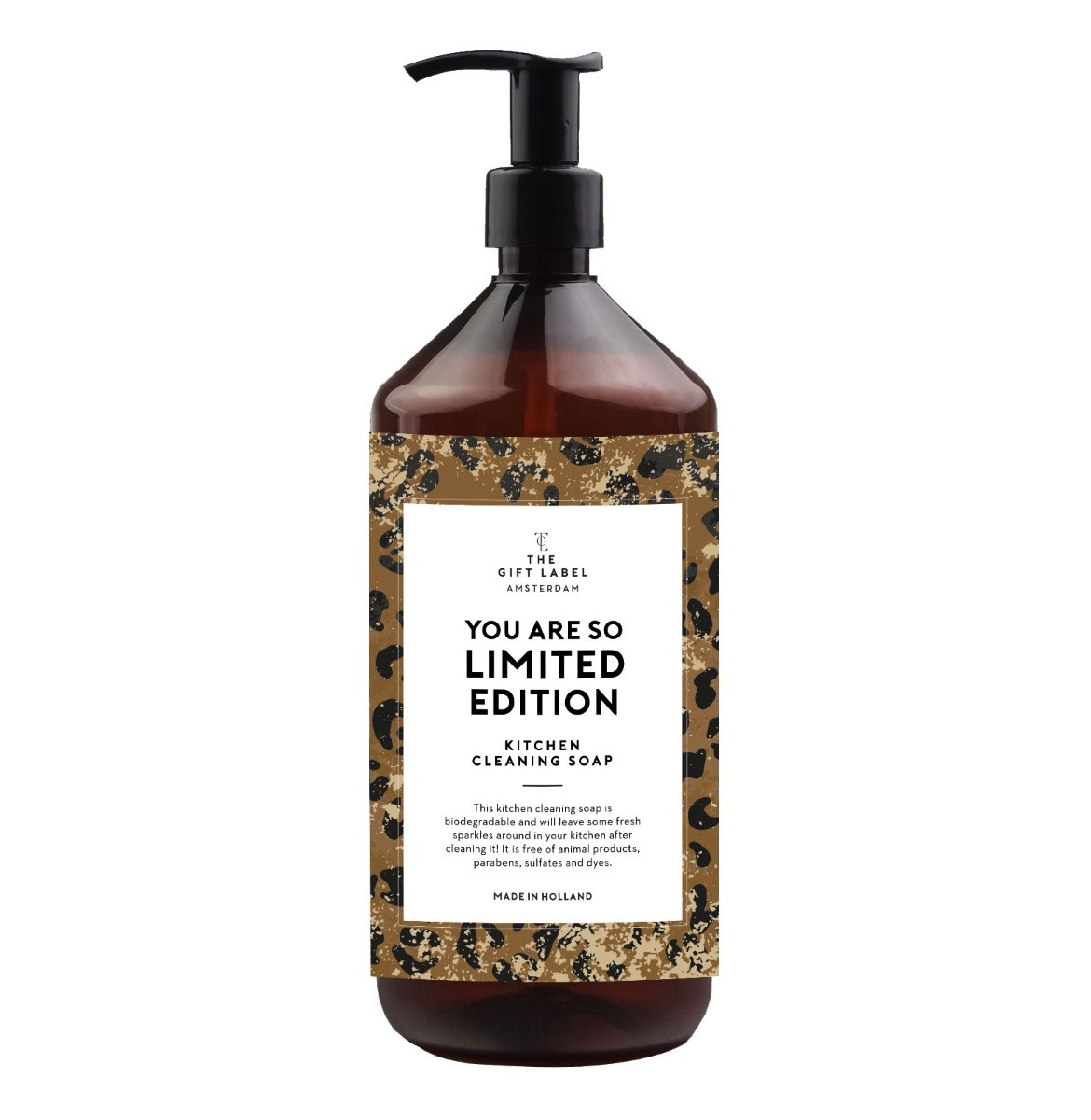 The Gift Label Kitchen cleaning soap 1 L - You are so limited edition