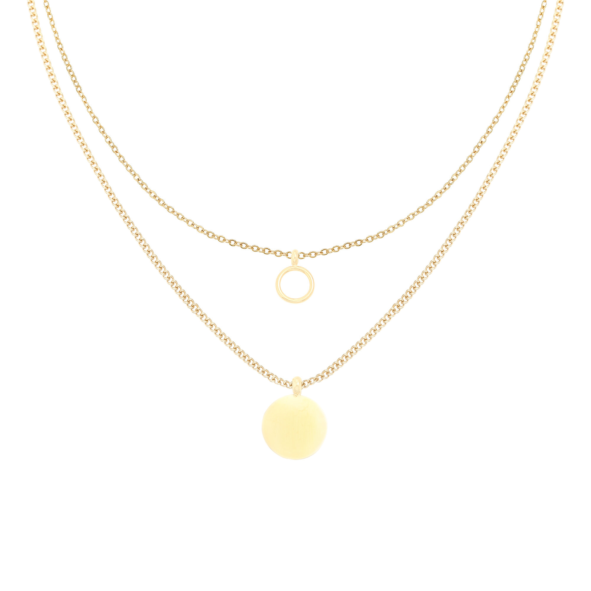 With love Necklace Complement gold
