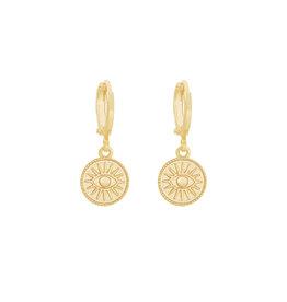 With love Earrings suneye gold