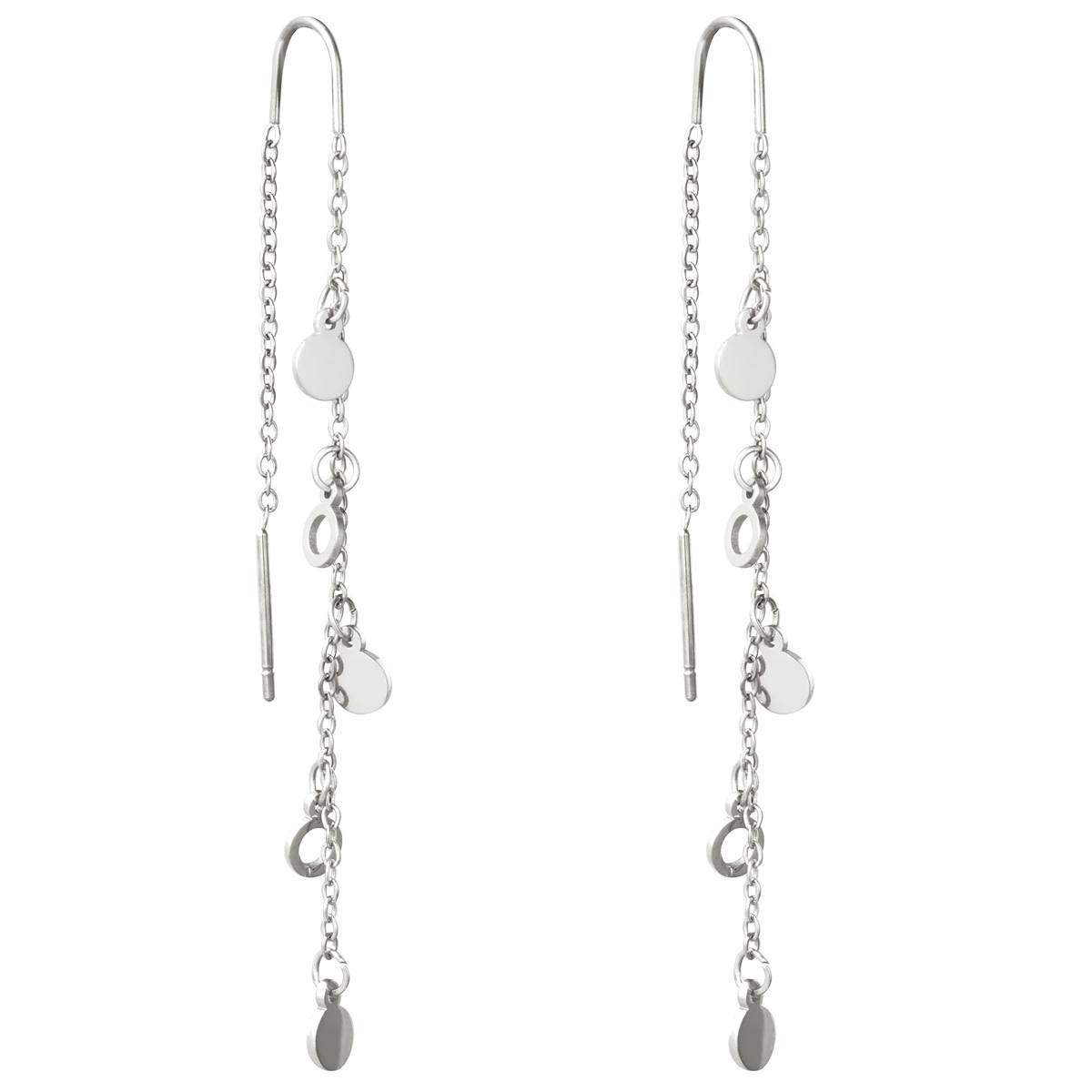 With love Earrings Da bomb silver