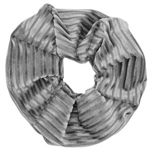 With love Scrunchie velvet grey