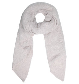 With love Scarf  comfy winter - grey