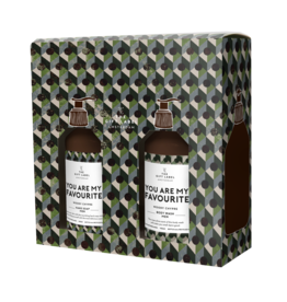 The Gift Label Gift box hand soap + body wash - You're my favorite MAN