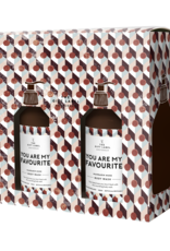 The Gift Label Gift box hand soap + body wash - You're my favorite WOMAN