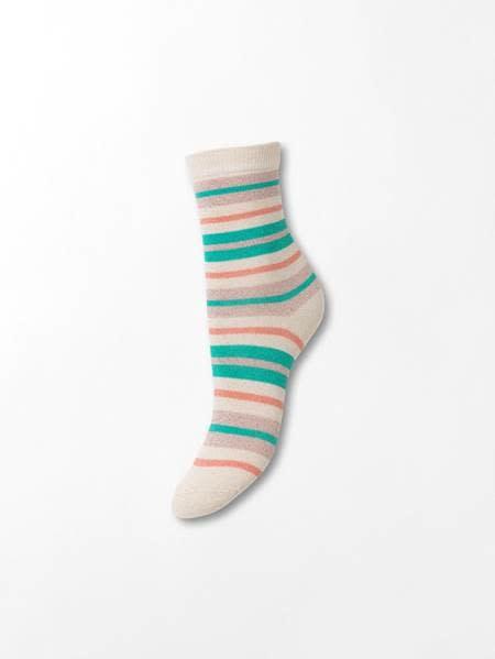 Beck Söndergaard Dalea multistripe sock - Silver gray 39/41