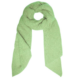 With love Scarf comfy winter - green