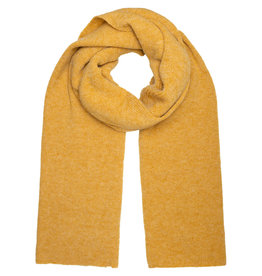 With love Scarf  Knitted - Yellow